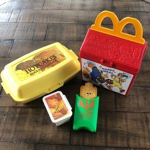 Vintage Fisher-Price McDonald's Play Food